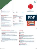 Guia basica de primeros auxilios