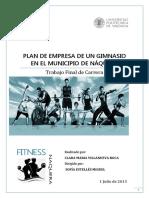 Tfc - Villanueva Roca c.m - Plan de Empresa de Un Gimnasio