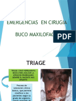 Emergencias en Cirugia Buco Maxilofacial