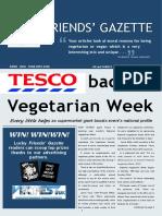 Friends' Gazette April 2016 edition