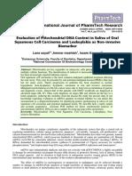 Evaluation Mitochondrial Dna