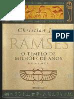 O Templo de Milhoes de Anos - R - Christian Jacq