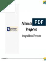 Integración Del Proyecto
