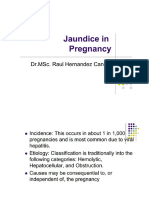 Jaundice in Pregnancy