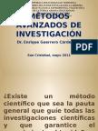 Métodos Avanzados de Investigación