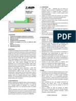 Indicador de Pesagem Mod.31 01 - Manual de Instalação e Operação