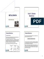 Apostila de Metalografia 1 - Unidade 2