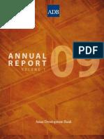 ADB Annual Report - Volume 1