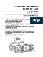 Standard GX1255S Marine Tranciever Manual
