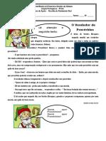 O Vendedor de Provérbios - Texto de Apoio.doc