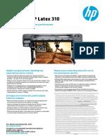 Ficha Técnica HP 310