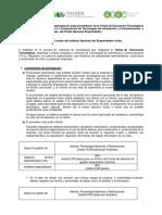 Lineamientos Convocatoria 5.1 INADEM 2016