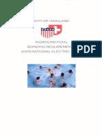 pool bonding
