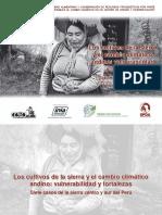 Los cultivos de la sierra y el cambio climático andino