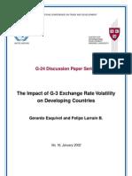 Volatility Exchange Rates