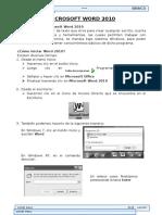 Word 2010 Manual