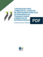 Convención para combatir el cohecho de funcionarios públicos extranjeros