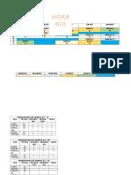 modelo de horario