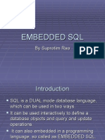 Embedded Sqfinall