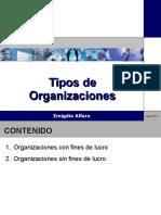 02 01 Tipos de Organizaciones