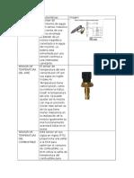 tabla comparativa de sensores y actuadores
