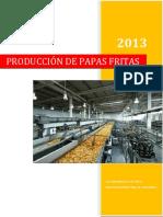 Proceso Produccion Papas Fritas