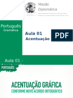 Missão Diplomática - Gramática - Aula 1 - Acentuação