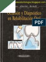 Oclusión y Diagnóstico en Rehabilitación Oral - Alonso