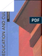 Architectural DESIGN - Education and Culture