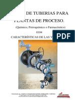 Curso de tuberías para plantas de proceso - 0104 Valvulas, sus Caracteristicas