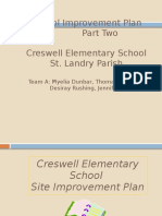 school improvement plan part two 518