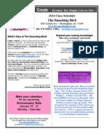 The Smocking Bird Newsletter 2010