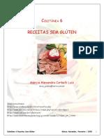 Coletânea receitas sem gluten