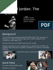 copy of michael jordan- the g o a t