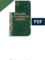 Dirección de La Producción Socialista. Popov - Scanned