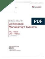 Certification Scheme Compliance