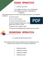 Presentación Seguridad Operativa1 - Señalizacion