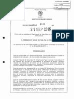 Decreto 1886 Del 21 de Septiembre de 2015