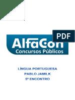 Alfacon Tecnico Do Inss Fcc Lingua Portuguesa Pablo Jamilk 5