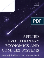 Foster - Applied Evolutionary Economics and Complex Systems