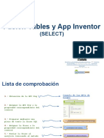 Fusion Tables y App Inventor - SELECT