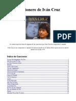 Cancionero de Iván Cruz
