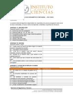 Cédula de Diagnótico Integral – Iso 9001