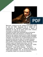 Curriculum de Cuauhtémoc Salas 2015