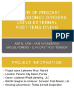 External Post Tension