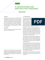 Repairs, Modifications, And Strengthening With Post-Tensioning, PTI Journal, July 2006