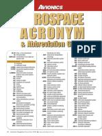 Avionics Magazine - Aerospace Abbreviation Guide