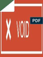 Voidd