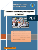 Danza de Negritos y Pallitas Monografía