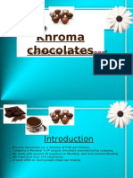 Swot Analysis Chocolate)